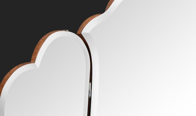 Birdseye Maple Art Deco Dressing Table For Sale
