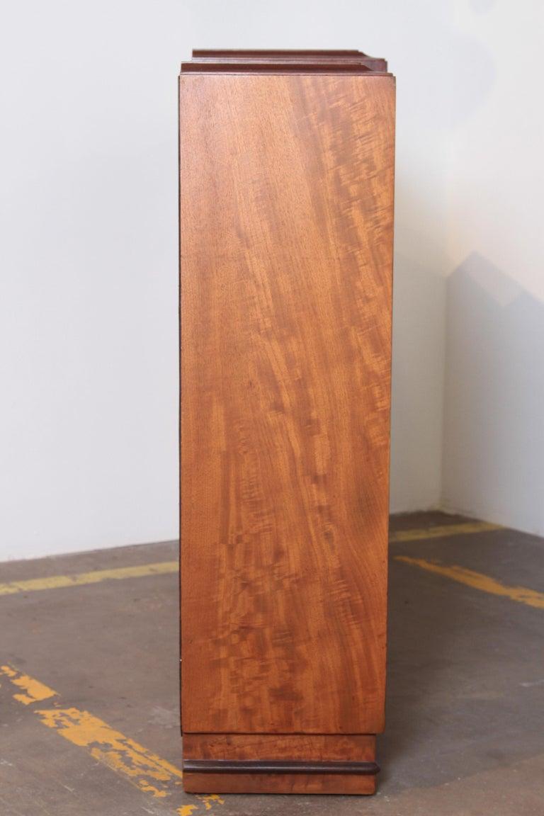 Art Deco Dynamique Creations Johnson Furniture Co. Skyscraper Bookcase Wall Unit For Sale 3