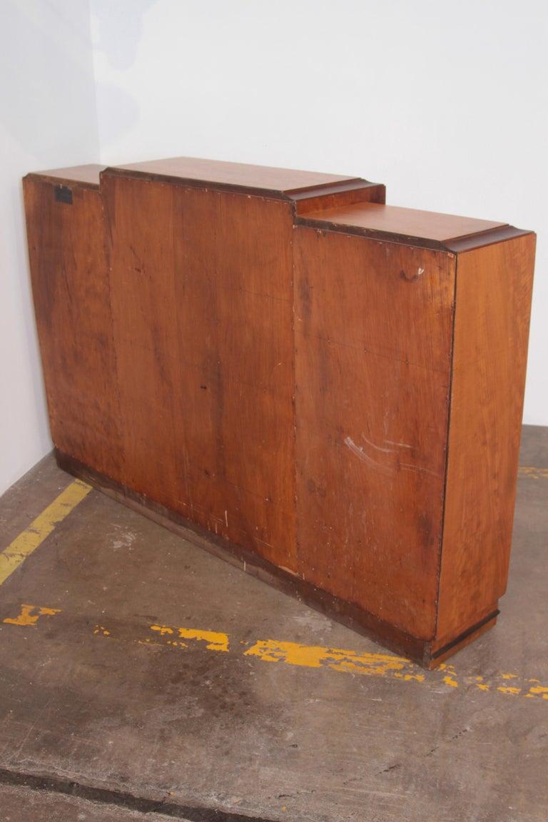 Art Deco Dynamique Creations Johnson Furniture Co. Skyscraper Bookcase Wall Unit For Sale 4