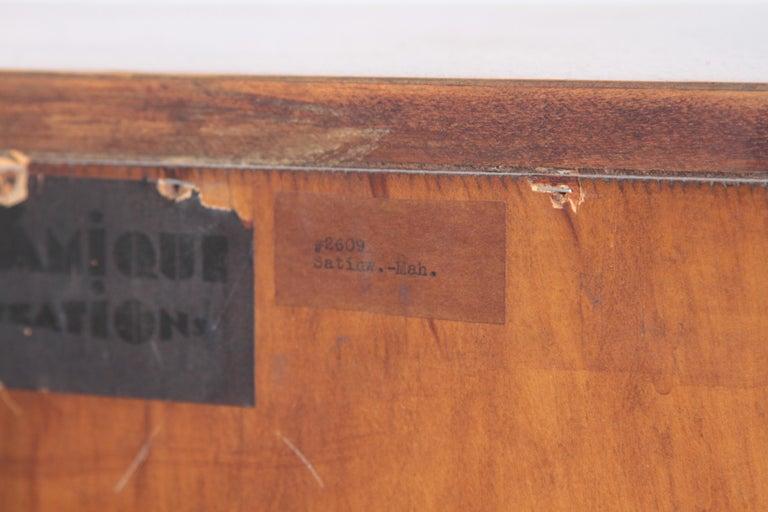 Art Deco Dynamique Creations Johnson Furniture Co. Skyscraper Bookcase Wall Unit For Sale 7