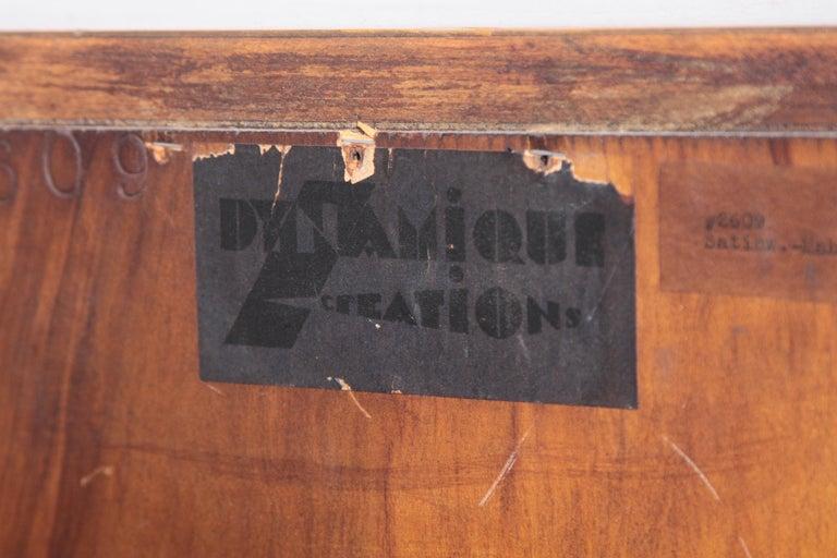 Art Deco Dynamique Creations Johnson Furniture Co. Skyscraper Bookcase Wall Unit For Sale 8