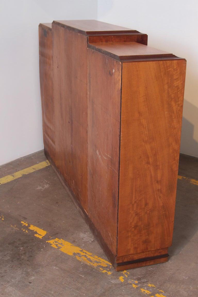 Art Deco Dynamique Creations Johnson Furniture Co. Skyscraper Bookcase Wall Unit For Sale 9