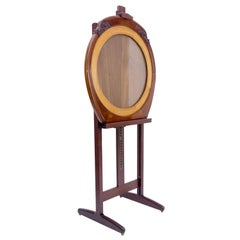 Art Deco Easel or Painting Stand Display