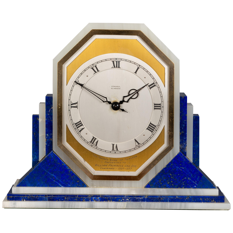Art Deco Electric Mantel Clock