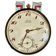 Art Deco Enamel Pocket Watch