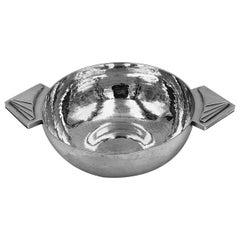 Art Deco English Silver Bowl
