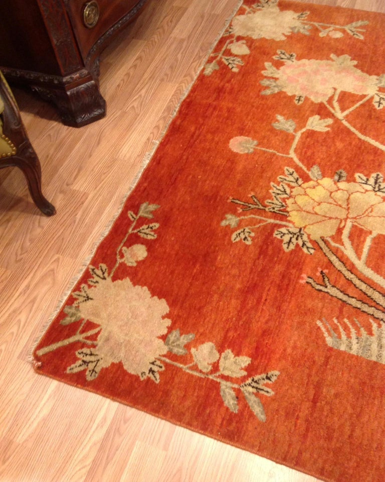 20th Century Art Deco Era Chinese Rug For Sale