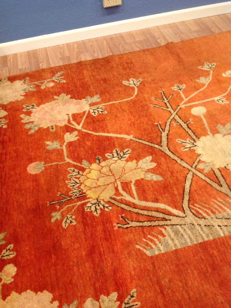 Textile Art Deco Era Chinese Rug For Sale