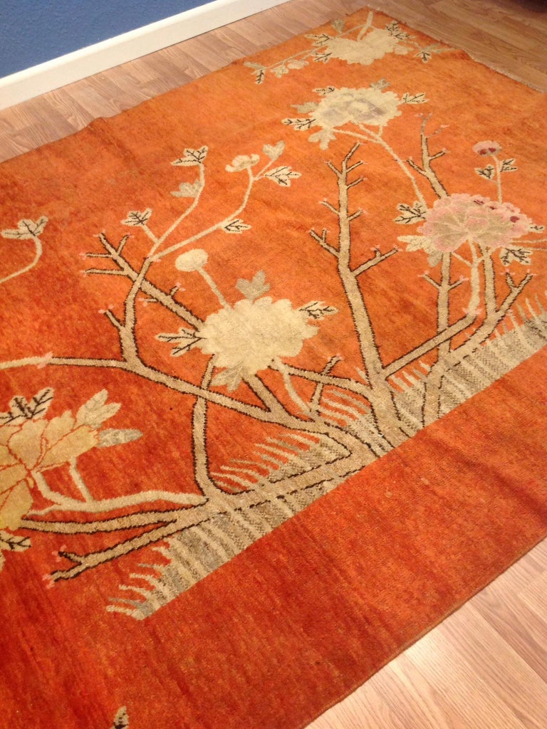 Art Deco Era Chinese Rug For Sale 1
