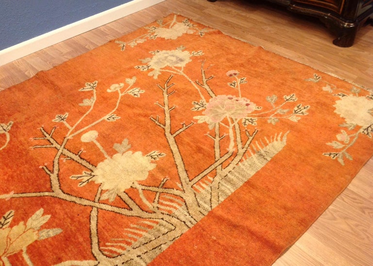 Art Deco Era Chinese Rug For Sale 2