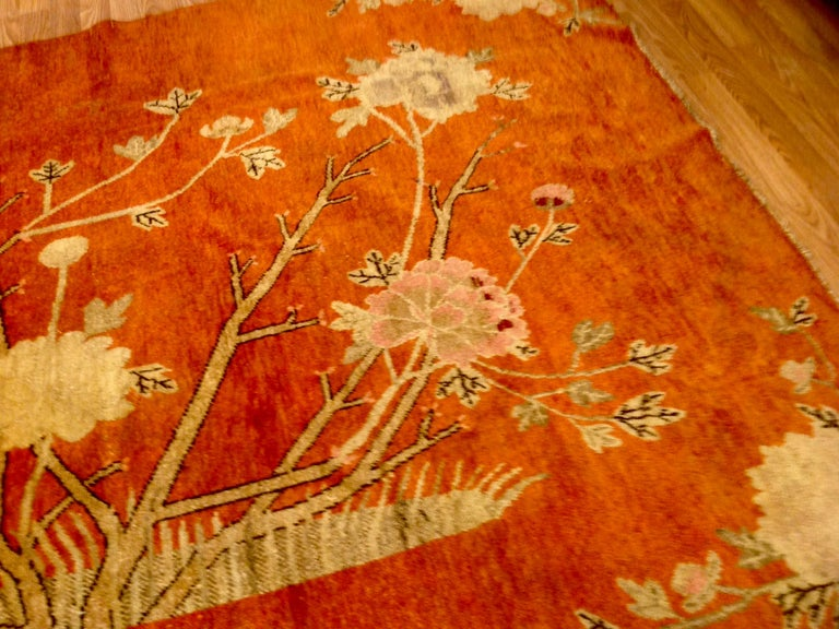Art Deco Era Chinese Rug For Sale 3