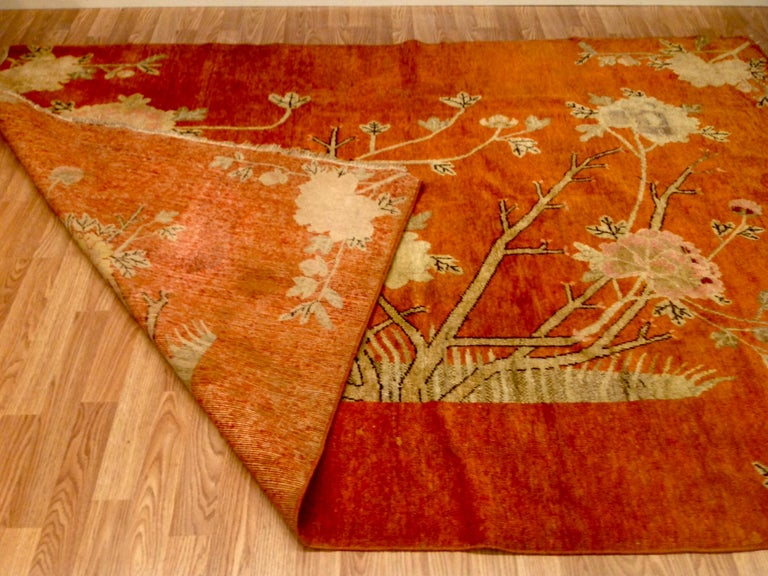 Art Deco Era Chinese Rug For Sale 4
