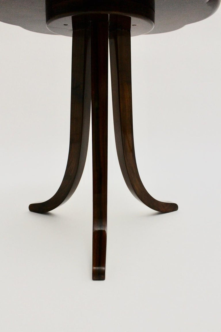 Art Deco Era Vintage Walnut Side Table by Josef Frank circa 1925 Austria For Sale 6