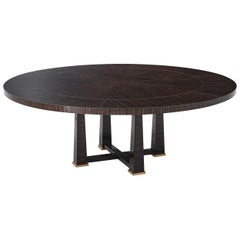 Art Deco Extending Dining Table