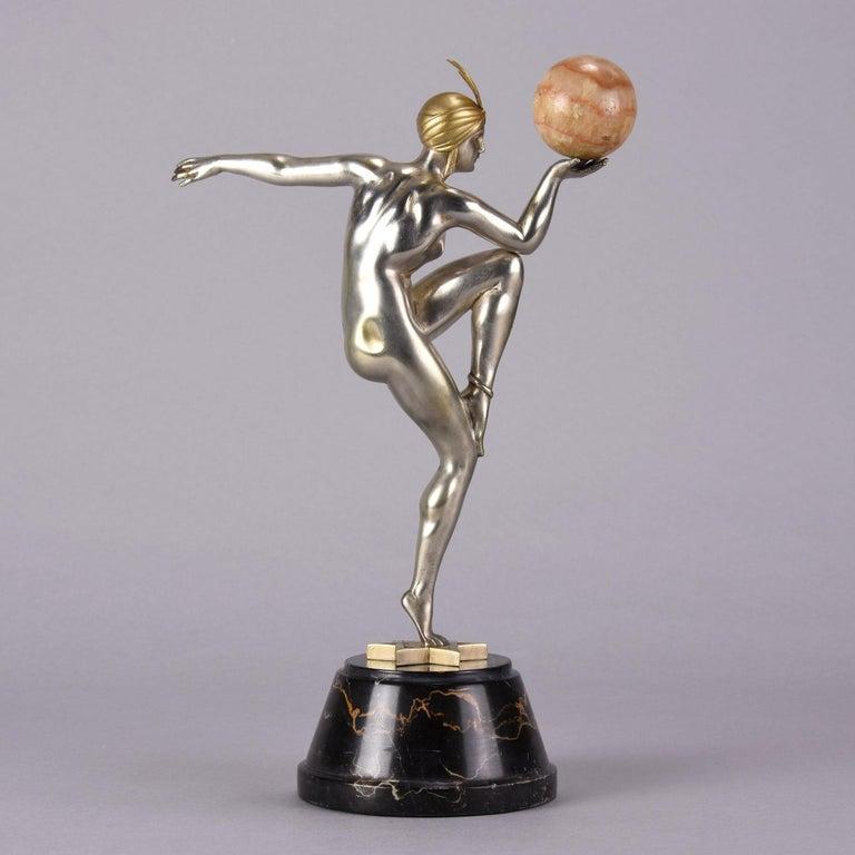 Cast Art Deco Figure