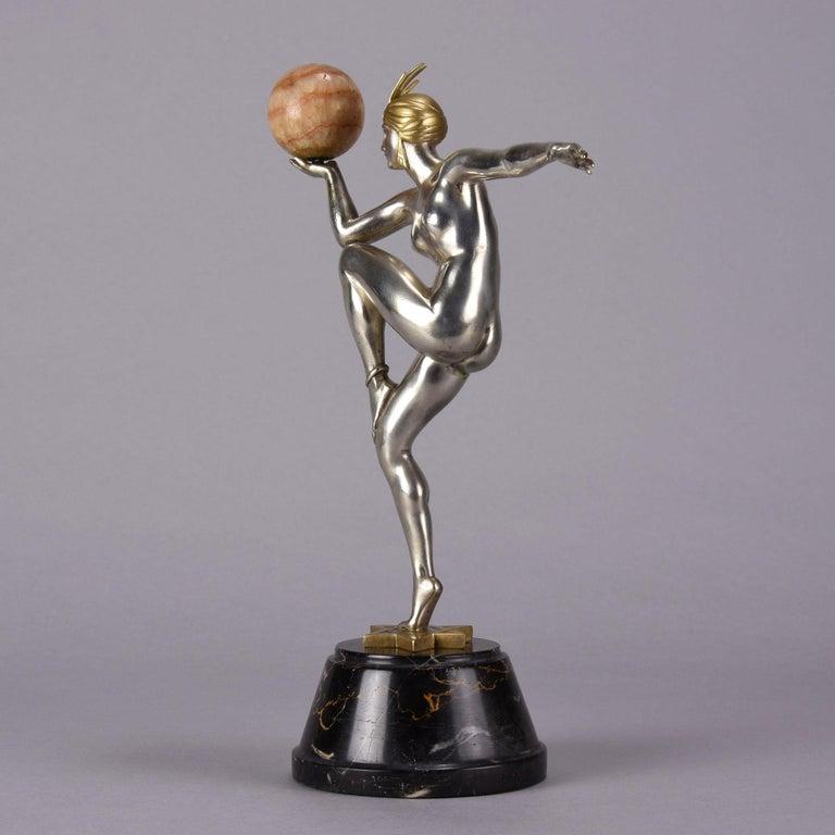 Bronze Art Deco Figure