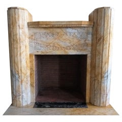 Art Deco Fireplace, 1926