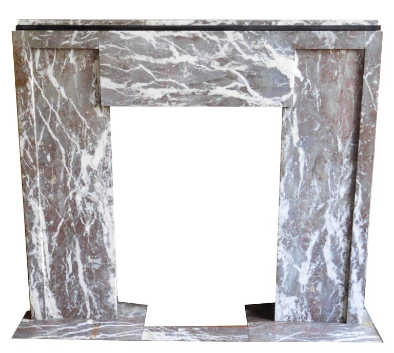Art Deco ART DECO Fireplace from the 'Rouring Twenties' For Sale
