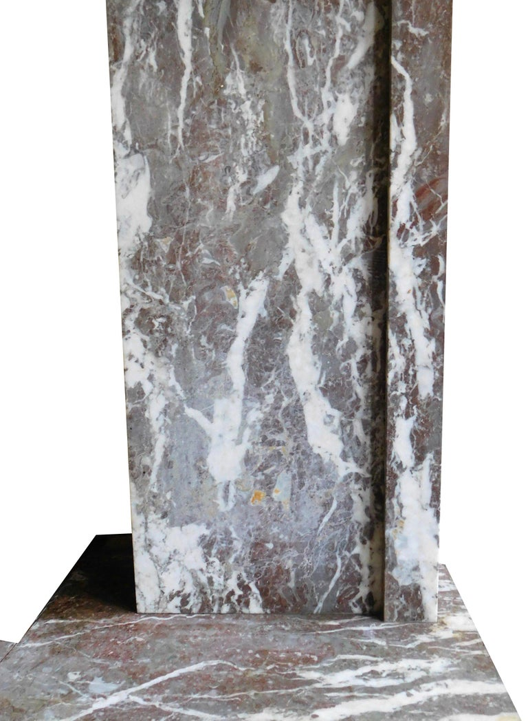 Early 20th Century ART DECO Fireplace from the 'Rouring Twenties' For Sale