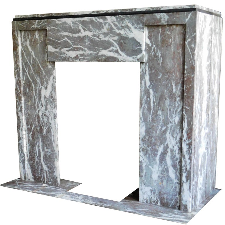 ART DECO Fireplace from the 'Rouring Twenties' For Sale