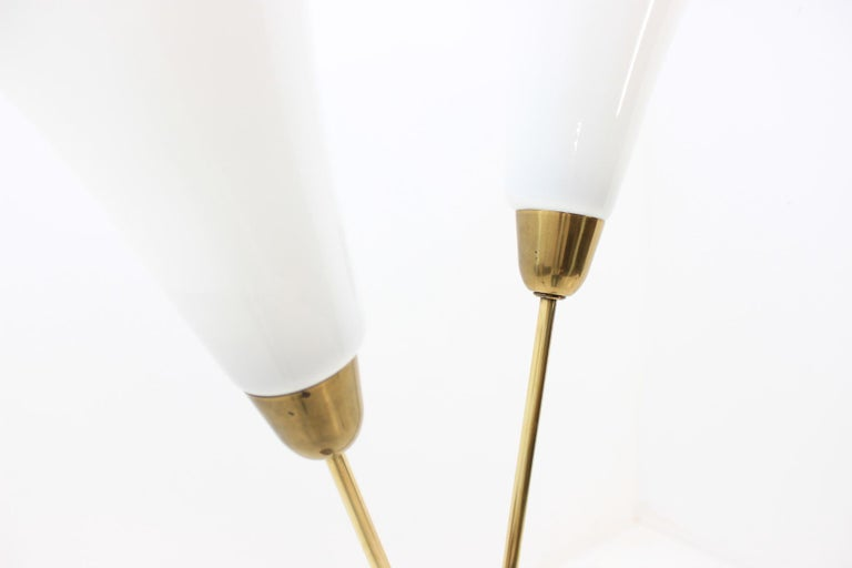 Art Deco Floor Lamp, Czechoslovakia For Sale 4