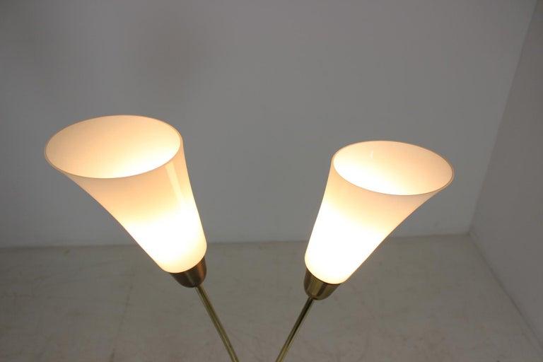 Art Deco Floor Lamp, Czechoslovakia In Good Condition For Sale In Praha, CZ