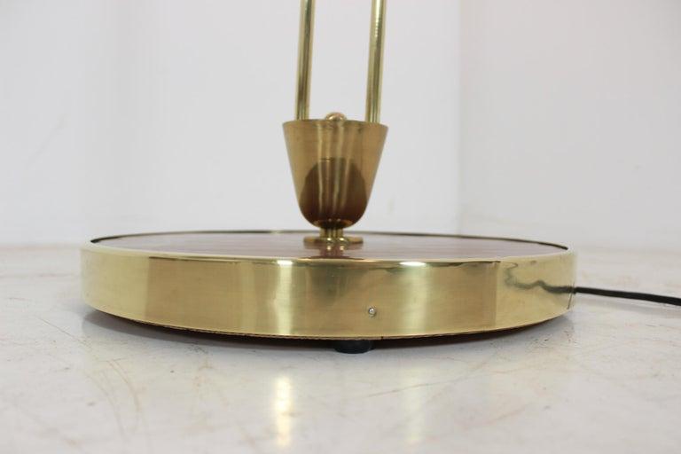 Art Deco Floor Lamp, Czechoslovakia For Sale 2
