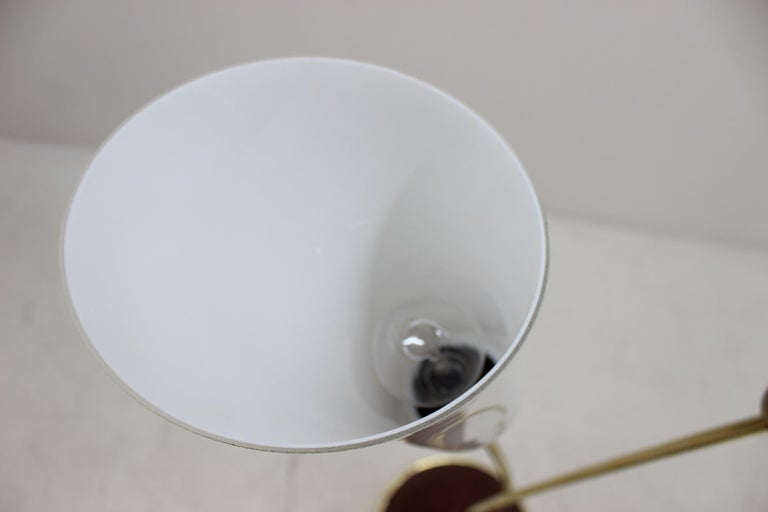 Art Deco Floor Lamp, Czechoslovakia For Sale 3