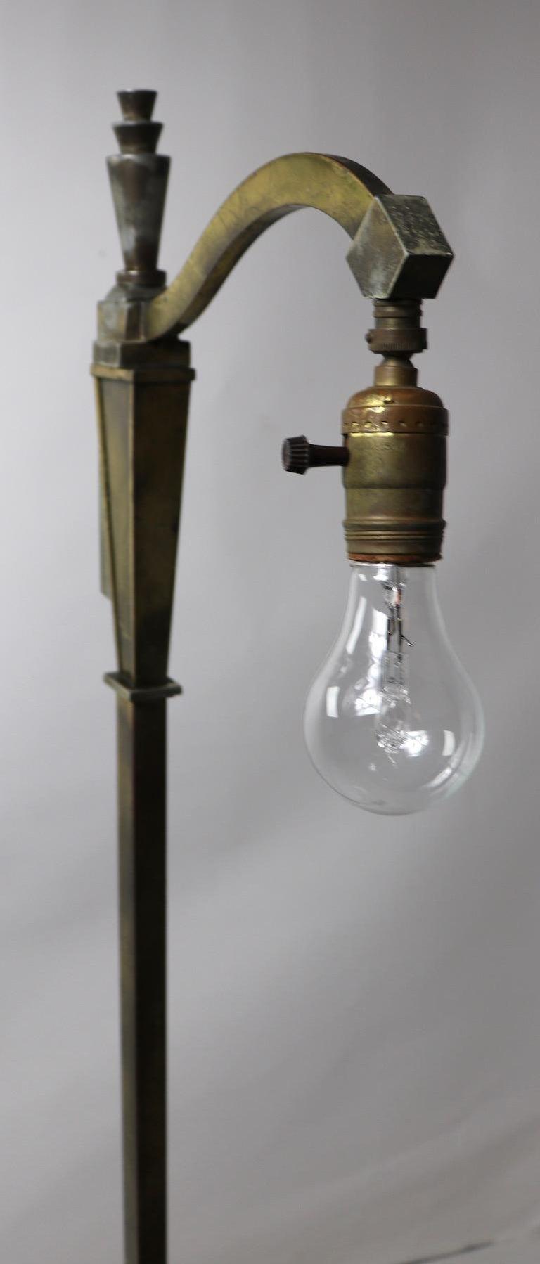 American Art Deco Floor Lamp
