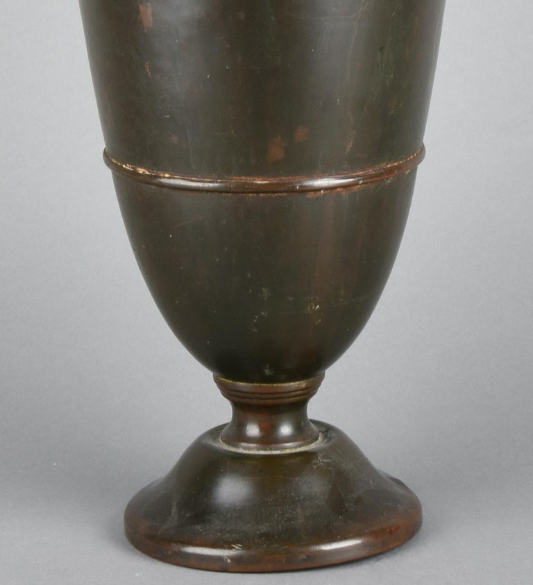 Art Deco Floor Vase, Germany, 1920s In Good Condition For Sale In Roma, IT
