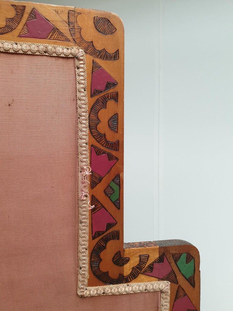 Art Deco Folding Screen For Sale 4