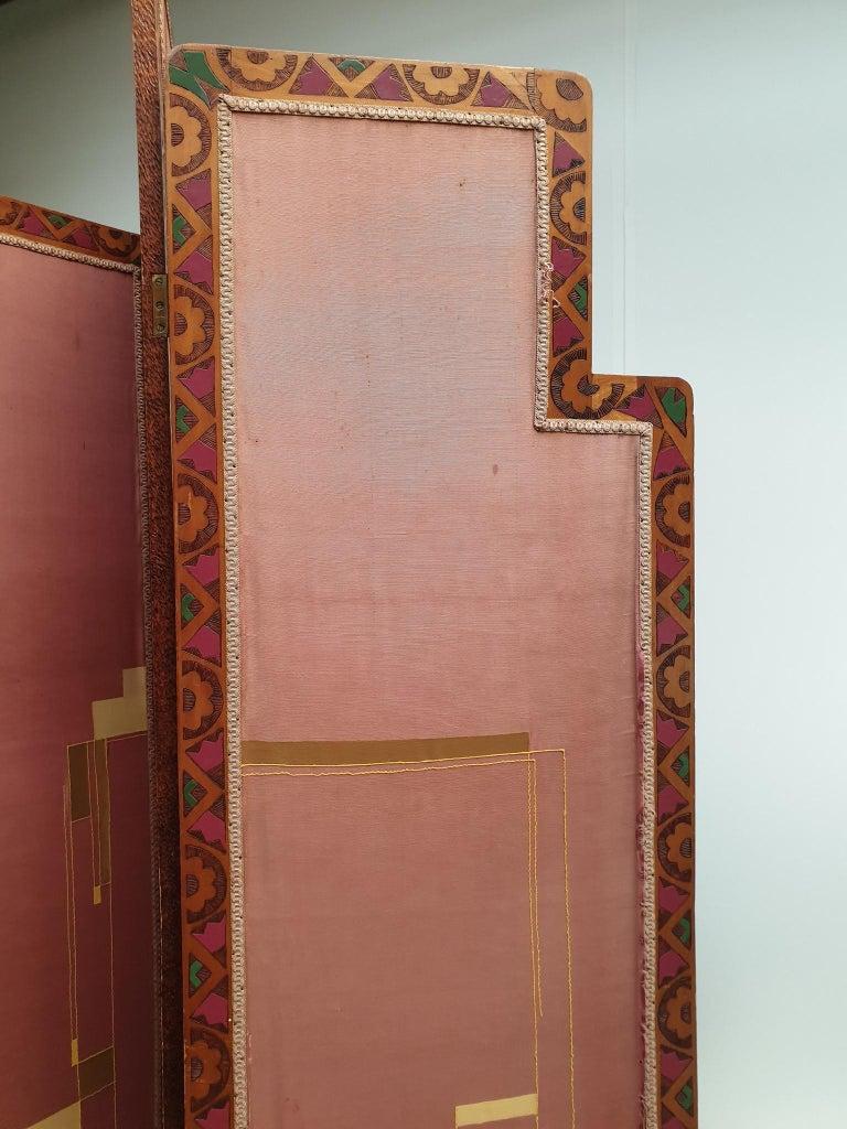 Art Deco Folding Screen For Sale 6