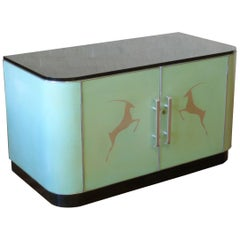 Art Deco Formica Commode