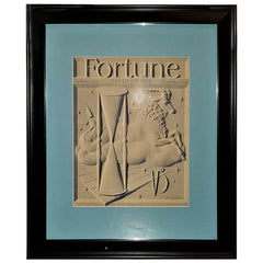 Art Deco Fortune Magazine Cover, January 1939