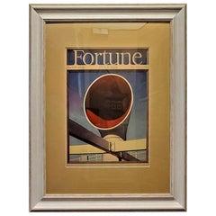 Art Deco Fortune Magazine Cover June 1939