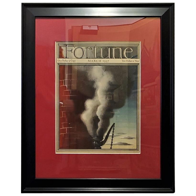 Art Deco Fortune Magazine Cover March 1937