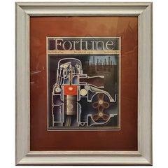 Art Deco Fortune Magazine Cover, March 1939