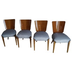 Art Deco Four Chairs from 1950