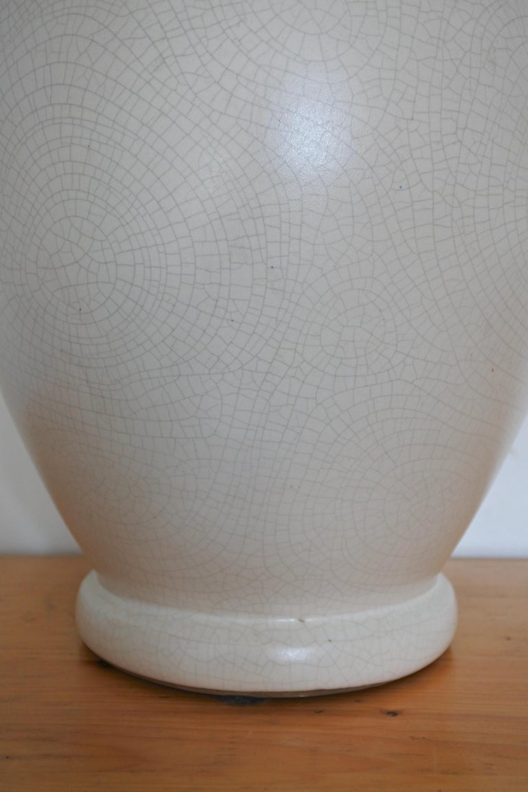 Art Deco French Ceramic Vase by Pol Chambost For Sale 5