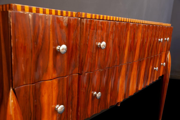 Art Deco French Chest of Drawer or Commode, 1930 For Sale 4