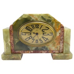 Art Deco French Clock by Dep, circa 1930s