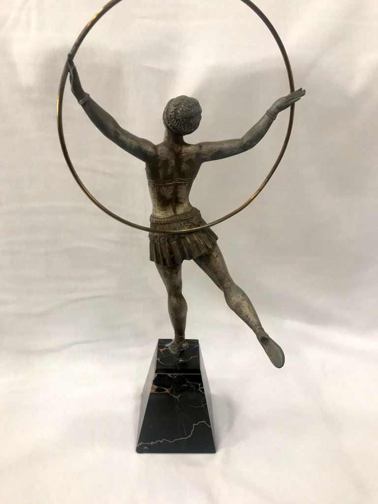Art Deco French Figural Dancer, circa 1930 For Sale 1