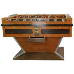 Art Deco French Football Table by Finale, circa 1930s
