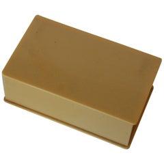 Art Deco French Ivory Vanity Keepsake Box