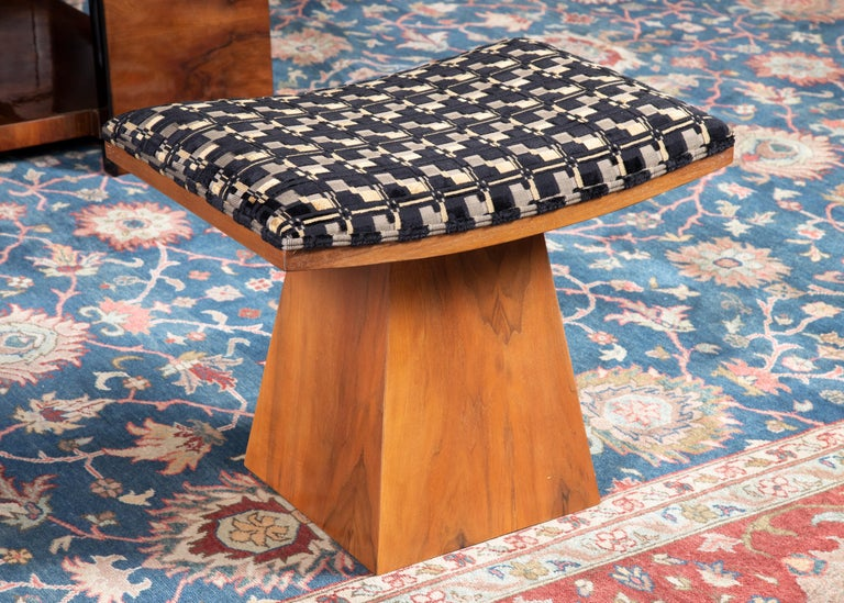 Art Deco French Ottomans In Excellent Condition For Sale In Houston, TX