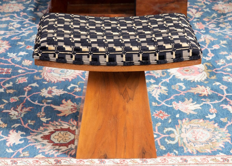 Mid-20th Century Art Deco French Ottomans For Sale