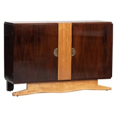 Art Deco French Rosewood and Sycamore Sideboard