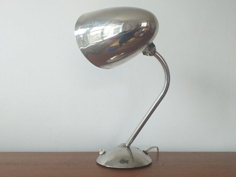 Art Deco, Functionalism, Bauhaus Table Lamp, Franta Anyz, 1930s 1