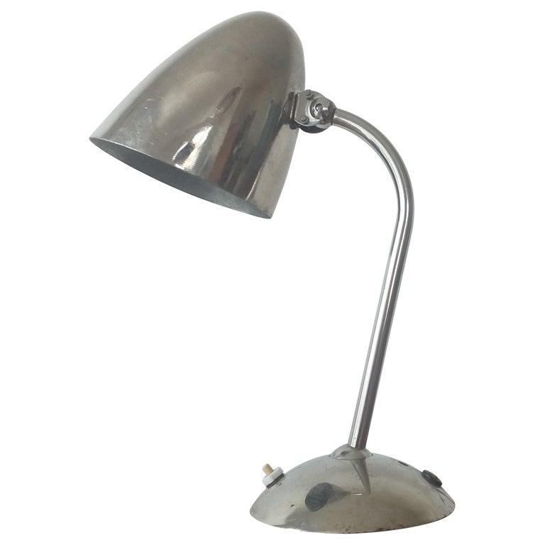 Art Deco, Functionalism, Bauhaus Table Lamp, Franta Anyz, 1930s