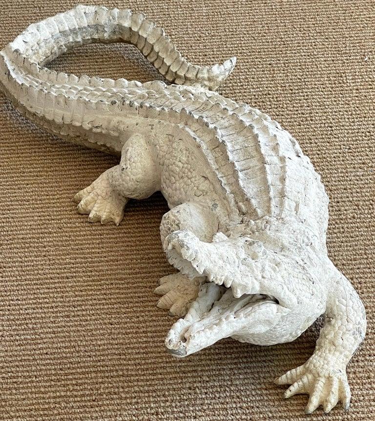 Art Deco Garden Alligator For Sale 2